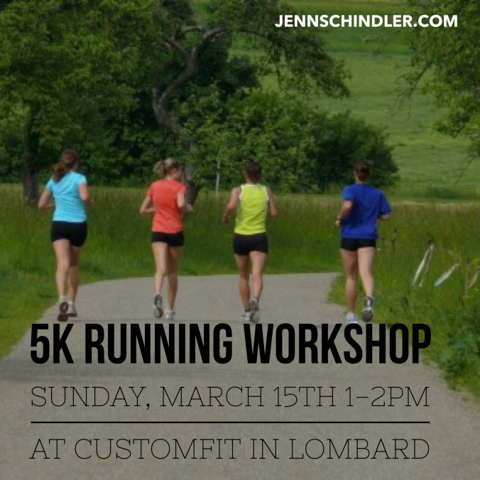 Running Workshop flyer