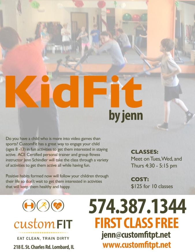 KidFit Flyer