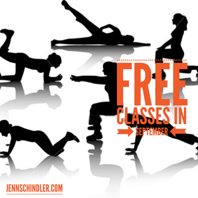 Don't miss out on your chance to attend FREE classes for a month!
