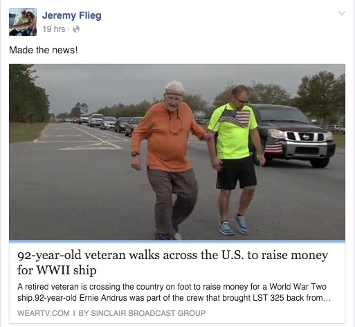 92 Year Old Inspiring Others